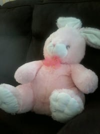 white and pink bear plush toy Windsor, N8W 4L2