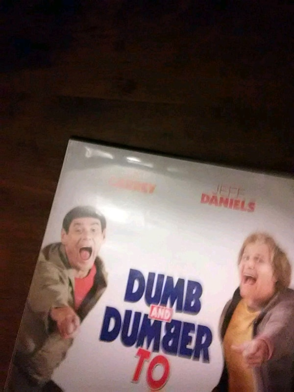 Used Dumb And Dumber To movie case for sale in South Glens Falls - letgo