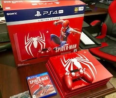 All New Spider-Man Edition PS4 Pros!!!