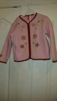 Girl's pink holiday sweater - 3T-4T Bowie, 20720