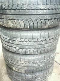 four black rubber car tires Barrie, L4N 0L1