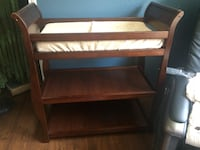 Diaper Changing Table with Pad and Pad Cover San Antonio, 78218