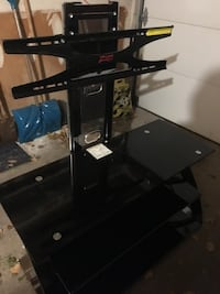 TV Stand Glass - 3 Levels - Excellent Condition!  Toronto, M3H 5W9