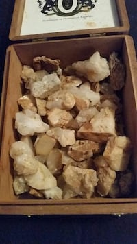 Box of quartz, hand mined Pensacola, 32507