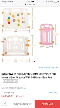 white and pink playpen screenshot Los Angeles, 90048