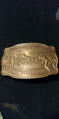 100th Anniversary at the O.K. Corral Belt Buckle Ripon, 54971