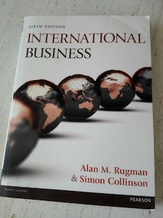 International Business av Alan M. Rugman og Simon Collinson bok