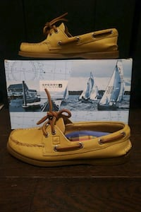 Sperry's Light Tan Boat Shoes