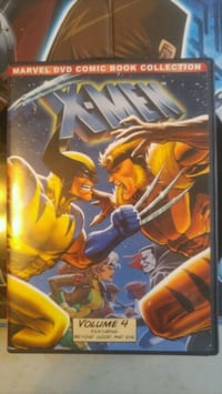 Marvel X-Men DVD case Brampton, L6X 1G8