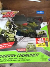 black and green RC helicopter with box Ottawa, K1L 5M1