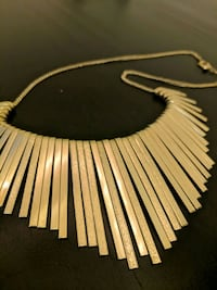Costume Jewelry: Gold Statement Necklace Federal Heights, 80260
