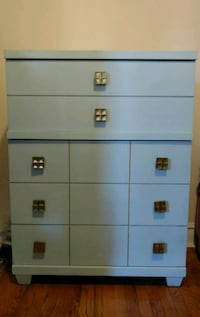 blue 5-drawer dresser (tallboy) Chicago, 60640