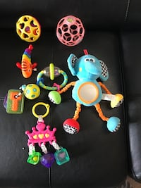 Infant toys 7 pieces Owings Mills, 21117