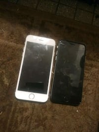 silver iPhone 6 with black case St. Louis, 63116