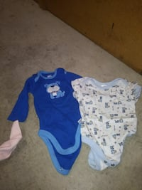 baby's two blue and white onesies Rohnert Park, 94928
