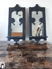 2 antique mirrors real wood Martensville, S0K 0A2