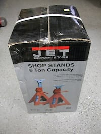 "Jet Shop Stand 6 Ton Capacity ""Brand New"" Camden"