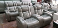 HOT BUY !!!!movie theater living room set 3 pieces Jacksonville, 32217