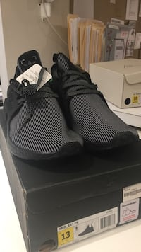 681e9cd2b7bd3 Used pair of black Adidas NMD XR1 PK shoes with box for sale in New ...