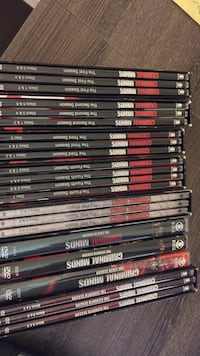 Criminal Minds Seasons 1-8, and 11 Houston, 77450