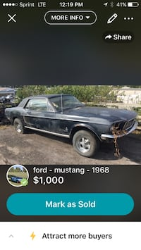 ford - mustang - 1968 Washington, 20024