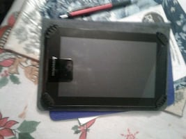 Lenovo  tablet with case and charger