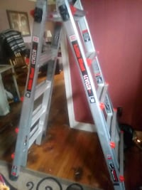 "17' 11"" Ladder:  Little Giant Ratchet Leveler Ladder"