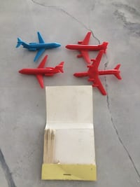 Collectable vintage air Canada do you see ATC nine promo plastic airplanes Toronto, M5H