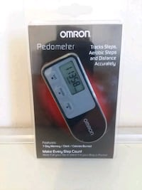 Omron Pedometer HJ-321 Black New In Package