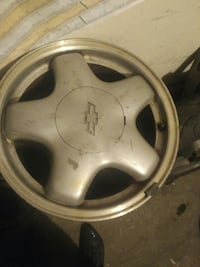 Chevy rims set of 4 15inch