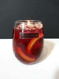 Sangria Cocktail Candle