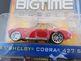 Jada Toys Diecast '65 Shelby Cobras 427 S/C Rarely Offered