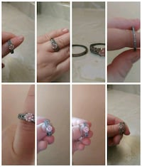 two silver-colored rings collage Langton, N0E 1G0