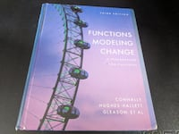 Functions Modeling Change: A Preparation for Calculus 3rd Edition Santa Maria