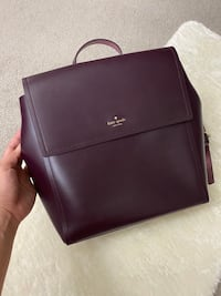 Kate Spade Somerville Road Megyn Backpack In Rich Rum Raisin