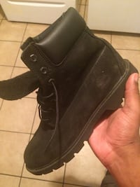 All black timberland boots size 8.5 Mobile, 36605