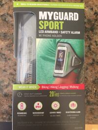 MyGuard Sport LED armband + safety alarm w/phone holder Wilmington, 28409