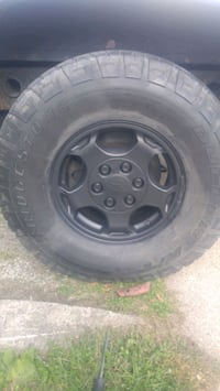 Set of 4with tires and rims