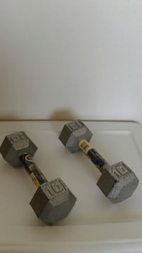 Two Ten Pound Weights Guelph, N1G 4S7