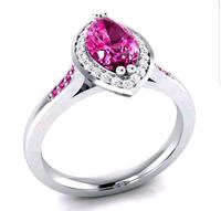 925 sterling silver Ruby Marquise ring Omaha, 68114