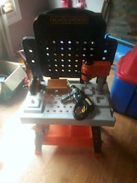 black and deckers tool bench