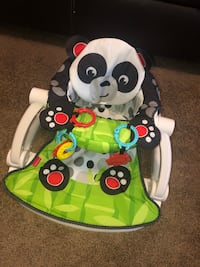 Baby's white and green activity Chair!!! Columbia, 21046