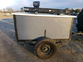 Utility, camping, hunting trailer