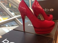 Bebe size 9 red hills great condition  Takoma Park, 20912