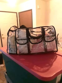 Luvodi Large PVC Clear Cosmetics Haircare Carryall Stockton, 95210