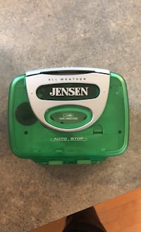 Jensen cassette player