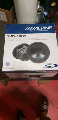 "Alpine 10"" Subwoofer"