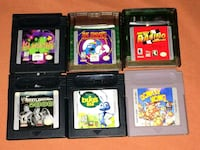 6 Game Boy Games $24 shipped will split $20 pu Franklin, 46131