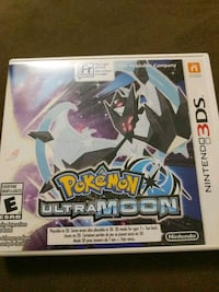 Pokemon Ultra Moon Nintendo 3DS Video Game Brampton, L6S 6H8
