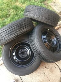 4- Toyota Corolla Rims and Tires  Mississauga, L5N 1P5
